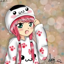 imagenes de monitas kawaii chica oni kawaii by onii chiio on deviantart