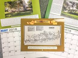 calendars for sale caln historical society 2018 calendars for sale caln township
