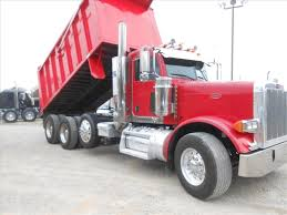 peterbilt trucks for sale used 2007 peterbilt 379exhd tri axle steel dump truck for sale in