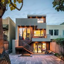 küçük modern villa mimari tasarım ev villa modern