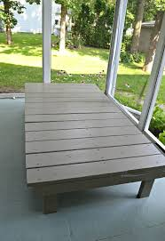 Wooden Outdoor Daybed Furniture by Outdoor Daybed From Playground Climbing Wall Hometalk