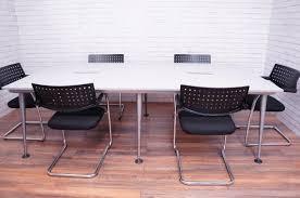 Herman Miller Meeting Table Office Resale Herman Miller Abak 6 8 Seater Meeting Table In
