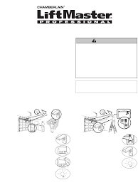 Chamberlain Garage Door Opener Instruction Manual by Liftmaster Garage Door Opener 976lm User Guide Manualsonline Com