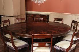 round mahogany dining table extra large round mahogany dining table american made pictures with