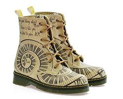 amazon canada s boots goby s shoes blush piano pattern combat boot https