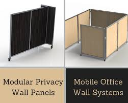 modular privacy wall panels mobile office wall systems folding