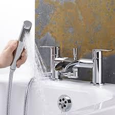 milano waterfall basin shower bath mixer tap set waterfall basin shower bath mixer tap set image 2