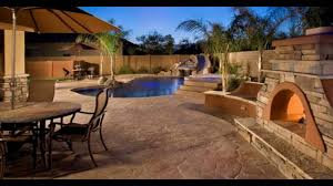 stamped concrete patio floors youtube