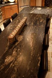 granite countertop kitchens with white cabinets electric drop in