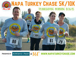 thanksgiving race napa valley turkey 5k 10k run walk napa