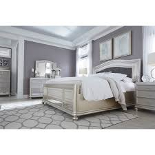 b5 in my bedroom coralayne queen upholstered panel bed b650 157 96 54 furnish my home