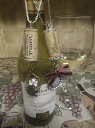 102 best wine bottle candles images on cork necklace