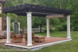 pergolas artisan backyard unlimited