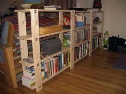 homemade wood bookcase diy homemade bookshelves design homemade