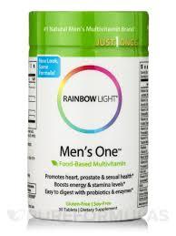 rainbow light multivitamin side effects one multivitamin 30 tablets