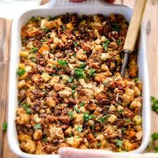 the chew com recipes thanksgiving thanksgiving cornbread sausage stuffing incredible recipes