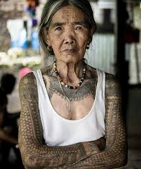 meet this badass 100 year old tribal tattoo artist konbini nigeria