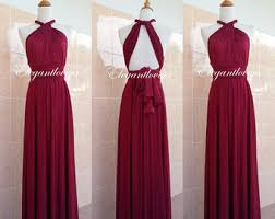 burgundy dress for wedding flower dresses etsy nz
