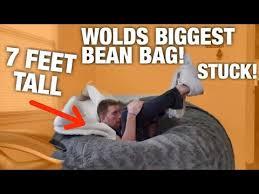 7 foot youtuber vs 7 foot beanbag youtube