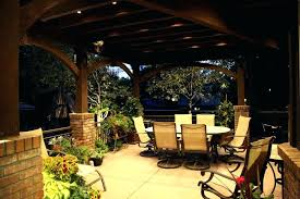 Covered Patio Lighting Ideas Outdoor Covered Patio Lighting Ideas Medium Size Of Outdoor