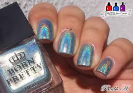 born pretty store blog holographic nail polish design and