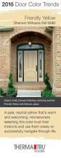 2016 door color trends front doors doors and canvases