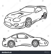 car drawing clip art sports car drawings isolated stock illustration 26063644