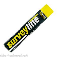 Line Marking Spray Paint - pack of 5 everbuild surveyline marker spray paint line marking