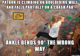 Rock Climbing Memes - work stories climbing wall guide album on imgur