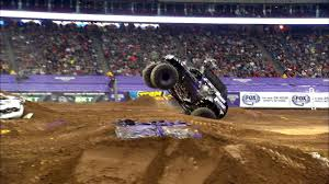 monster truck crashes video monster jam truck tour comes to los angeles this winter and spring