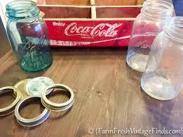 coca cola pendant lights how to make a custom light from a coke crate and mason jars farm