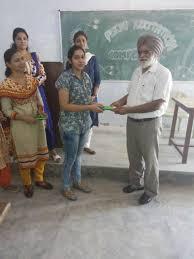 sgn khalsa pg sri ganganagar poem recitation competition at department sgn khalsa pg