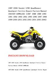 1995 suzuki quadrunner manual images reverse search