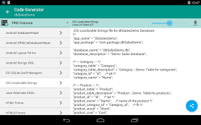 database script tool android apps on google play