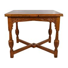 console table used as dining table 66 off pottery barn pottery barn tivoli six drawer console