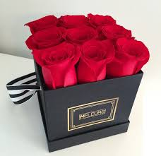 roses in a box mfleursmtl high quality roses in a luxury box