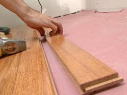 Heated Floor Under Laminate How To Install A Heated Hardwood Floor How Tos Diy