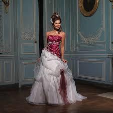 robe mari e bordeaux oderic ivoire et bordeaux robe de mariée 2013