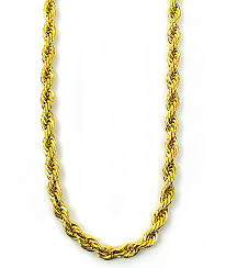 rope necklace chains images The gold gods rope chain necklace zumiez jpg