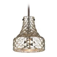 Mercury Glass Home Decor Fabulous Mercury Glass Pendant Light For Interior Decor Ideas
