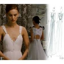 swan dress portman white prom dress in black swan