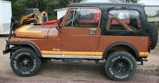 renegade jeep cj7 1981 jeep cj7 renegade suv item c3541 sold wednesday oc