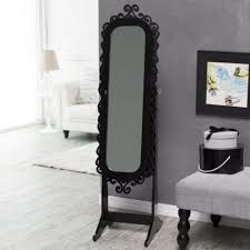 cheval jewelry armoire black cheval mirror jewelry armoire antique full length floor
