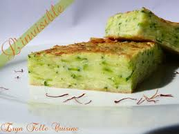 eryn folle cuisine gâteau invisible courgettes safran parmesan eryn et sa folle