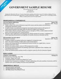 government resume exles marvelous government resume exles in federal resume