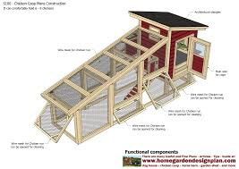 Plans For Garden Sheds by Home Garden Plans S100 Chicken Coop Plans Construction