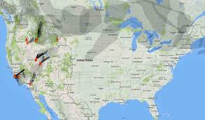 Washington Fire Map by Wildfire Smoke And Red Flag Warnings August 9 2016 U2013 Wildfire Today