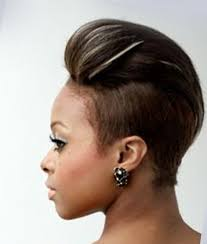 short black hair styles that have been shaved short mohawk hairstyles for black women 32 hair pinterest