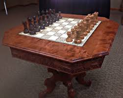 Chess Table Game Of Thrones Inspired Chess Table 9 Steps With Pictures