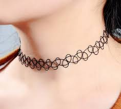 9 fashionable tattoo chokers for womens in trend styles at life
